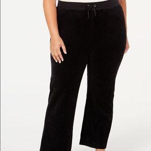 🎉New Juicy Couture Velour Pants (Plus ) Black